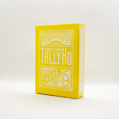 Tally-Ho Reverse Fan Back Yellow Deck by Aloy Studios