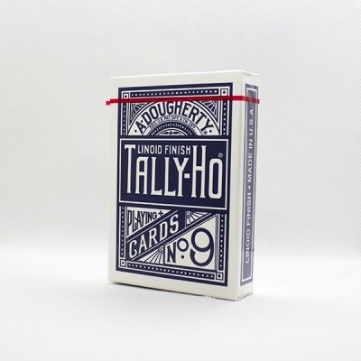 Tally-Ho Deck - Fan Back (Blue)