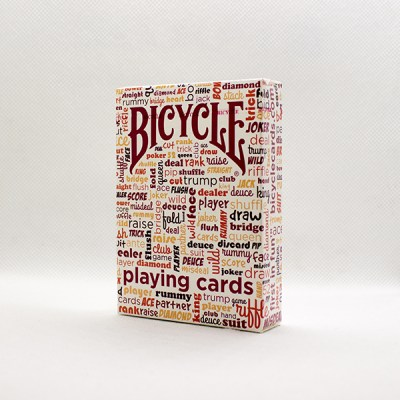 Bicycle Table Talk Red Deck by USPC