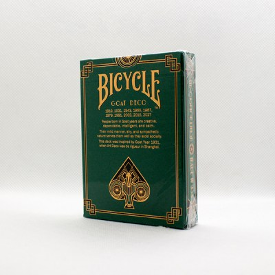Bicycle Goat Deco Deck by USPC 2