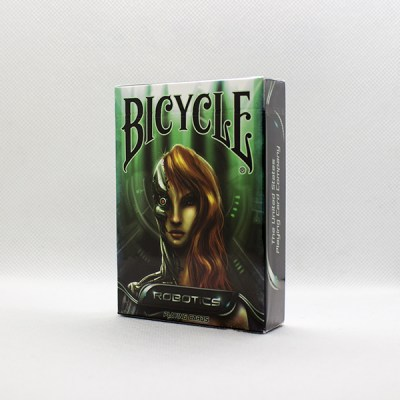 Bicycle Robotics Decks by Collectable Playing Cards