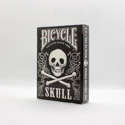 Bicycle Skull White Deck by Gambler's Warehouse