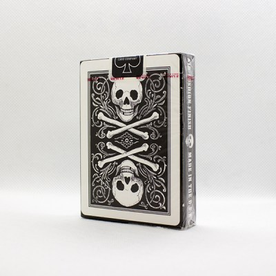 Bicycle Skull White Deck by Gambler's Warehouse 2