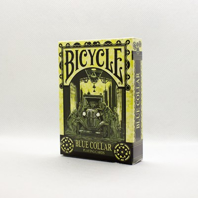 Bicycle Blue Collar Deck by Collectable Playing Cards