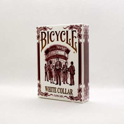 Bicycle White Collar Deck by Collectable Playing Cards