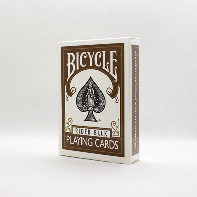 Bicycle Brown Back Deck by USPC