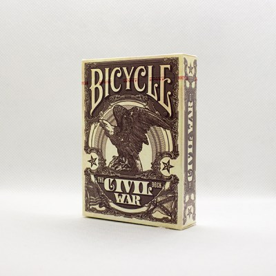 Bicycle Civil War Red Deck by Jackson Robinson