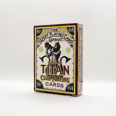 Global Titans Gold Deck by Expert Playing Cards