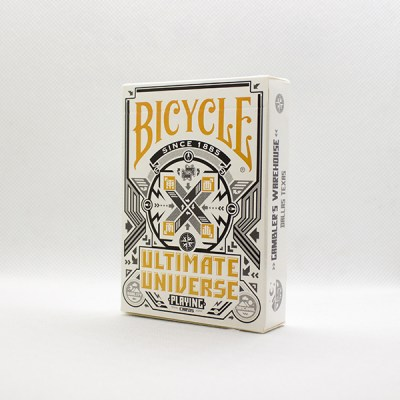 Bicycle Ultimate Universe Grey Deck by Gambler's Warehouse
