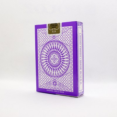 Tally-Ho Reverse Circle Back Purple Deck by Aloy Studios 2