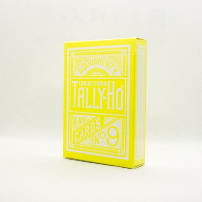 Tally-Ho Reverse Circle Back Yellow Deck by Aloy Studios