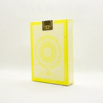 Tally-Ho Reverse Circle Back Yellow Deck by Aloy Studios 2