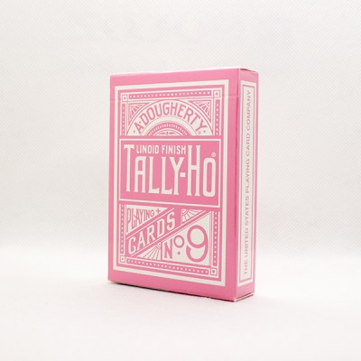 Tally-Ho Reverse Circle Back Pink Deck by Aloy Studios