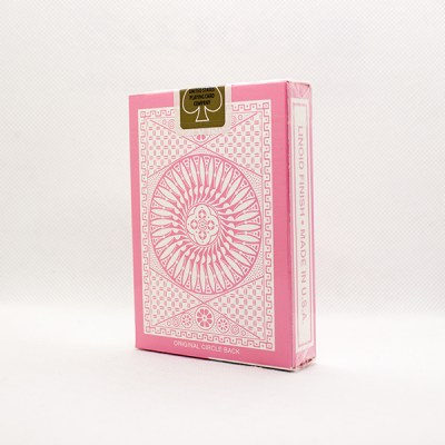 Tally-Ho Reverse Circle Back Pink Deck by Aloy Studios 2