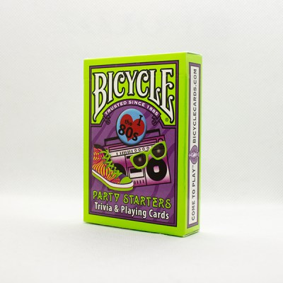 Bicycle Party Starters 80's Deck by USPC