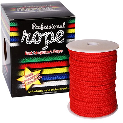 Professional Soft Rope (Red) - 15 m.