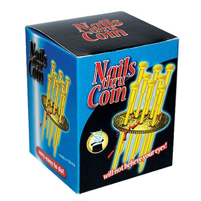 Nails Through Coin - Plus