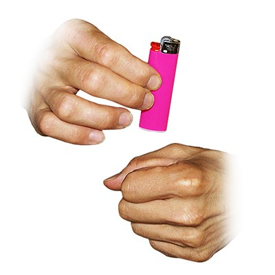 Vanishing Lighter