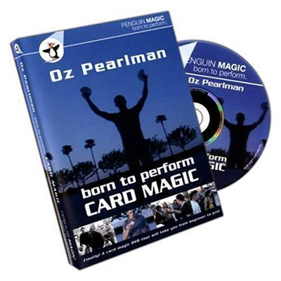Born To Perform Card Magic (DVD) by Oz Pearlman