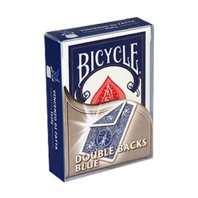 Bicycle Double Backs Blue Deck