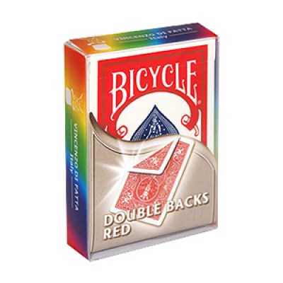 Bicycle Double Backs Red Deck