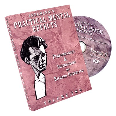 Annemann's Practical Mental Effects 2 (DVD) by Richard Osterlind