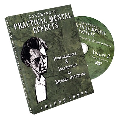 Annemann's Practical Mental Effects 3 (DVD) by Richard Osterlind
