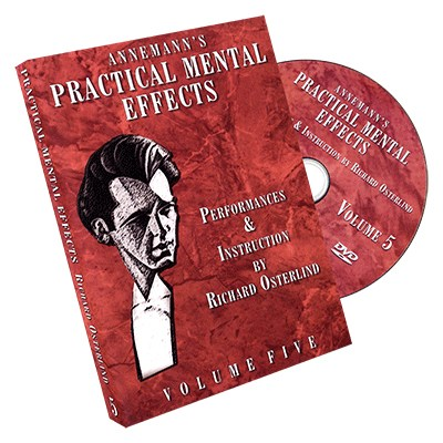 Annemann's Practical Mental Effects 5 (DVD) by Richard Osterlind