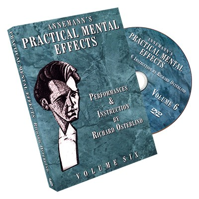 Annemann's Practical Mental Effects 6 (DVD) by Richard Osterlind