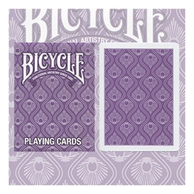 Bicycle Peacock Purple Deck by USPC